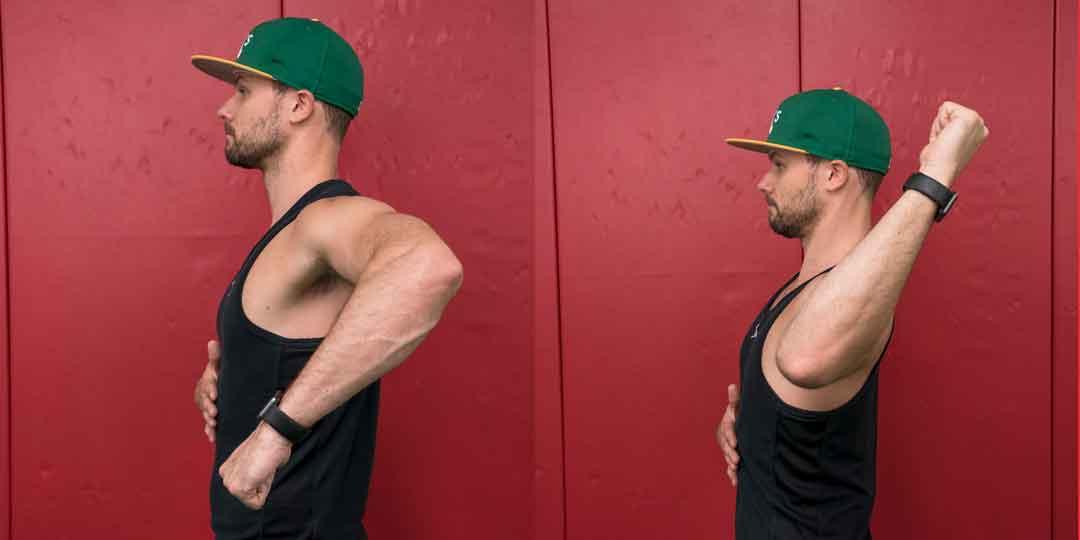 Examples of shoulder rotation assessment in Elite Video Membership