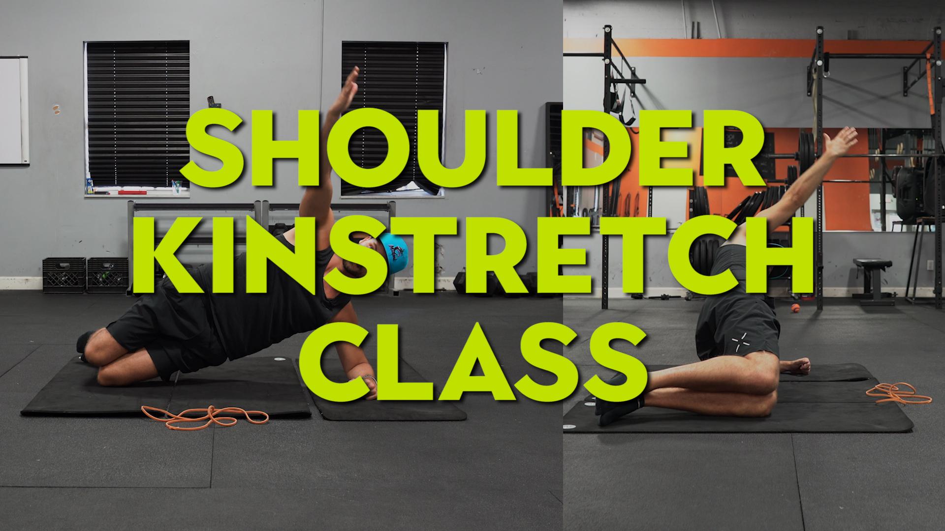 shoulder kinstretch mobility class improve motion