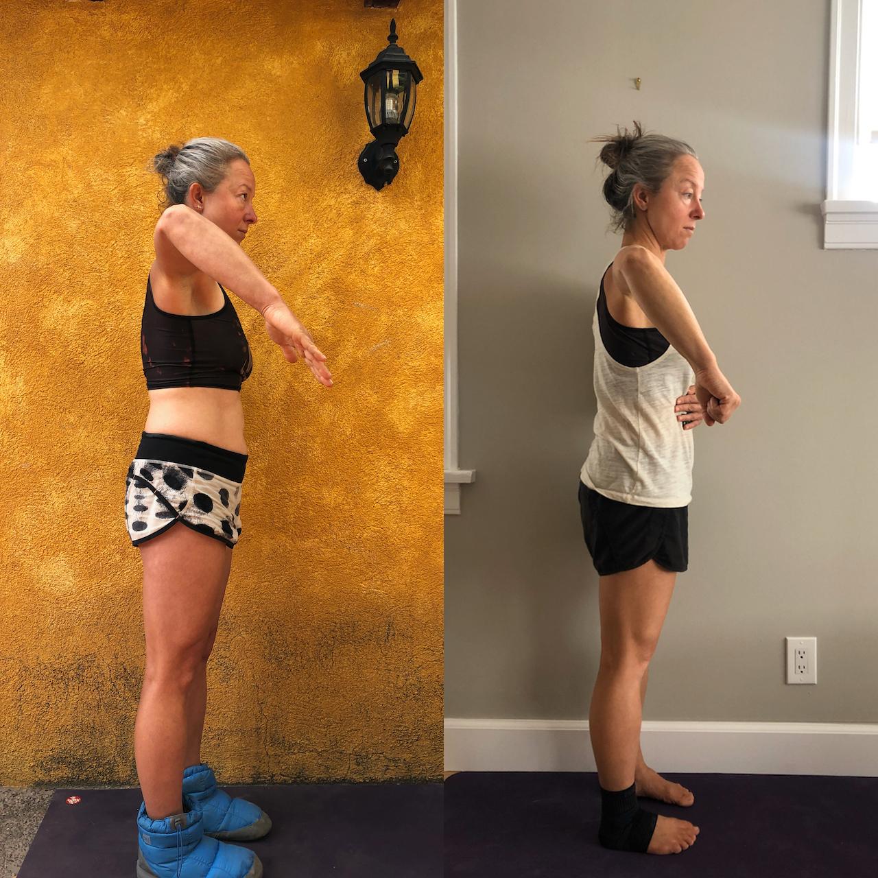 shoulder mobility results