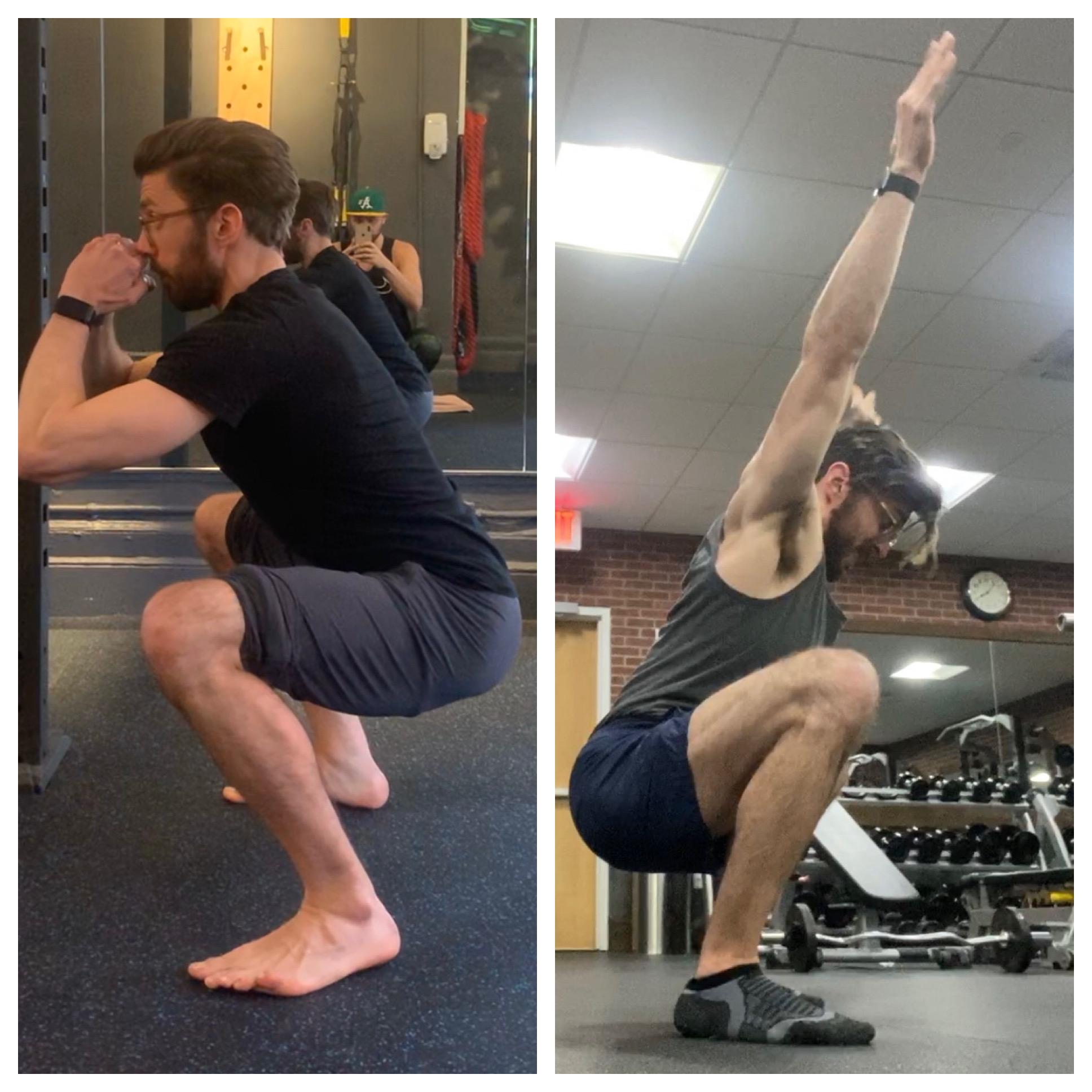 improve squat personal trainer