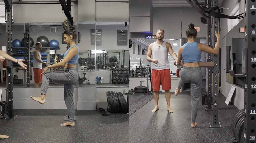 Improve your hip mobility with our two view classes.